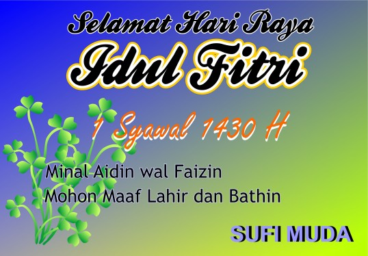 Card Lebaran by SUFIMUDA